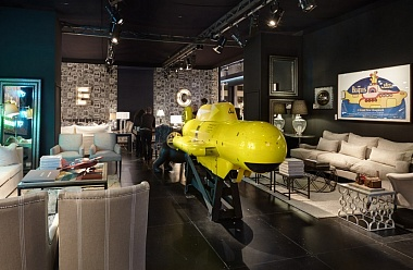 We all live in a Yellow Submarine. Andrew Martin на MAISON&OBJET
